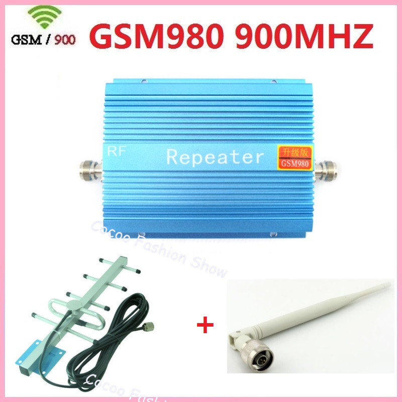 Enhanced GSM980 900Mhz Cellular Phone Signal Boosters repeater GSM Mobile Signal Amplifier + Antenna + wireless Indoor antenna Enhanced GSM980 900Mhz Cellular Phone Signal Boosters repeater GSM Mobile Signal Amplifier + Antenna + wireless Indoor antenna