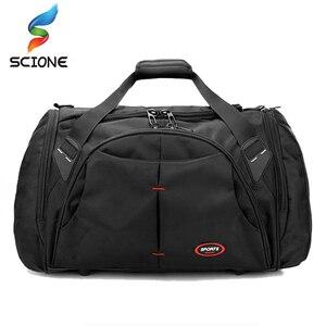 Популярные профессиональные большие спортивные сумки для тренажерного зала для мужчин и женщин, Водонепроницаемая спортивная сумка для фи...