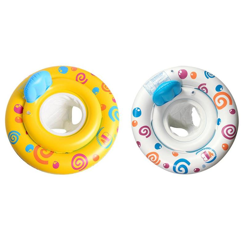 Newborn Baby Swimming Ring Infant Baby Inflatable Floats Toddler Kids Pool Float Seat Safety Child Kids Training Swim Props Bath