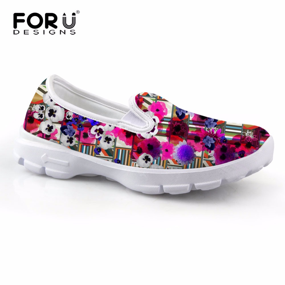 FORUDESIGNS 2017 New Fashion Spring Women Flats Boat Shoes Casual Female Slip-on Platform Shoes Ladies Soft Comfortable Shoes beyarne rivets decoration brand shoes flats women spring autumn fashion womens flats boat shoes sexy ladies plus size 11