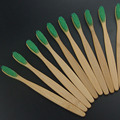 adult new fashion 10PCS/lot  Eco friendly  wooden Bamboo Toothbrush  tongue scraper Oral Care Soft Bristle