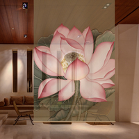 100CMX200CM Biombo Hanging wall panels entrance curtain soft partition stylish living room entrance Guabing 151 006
