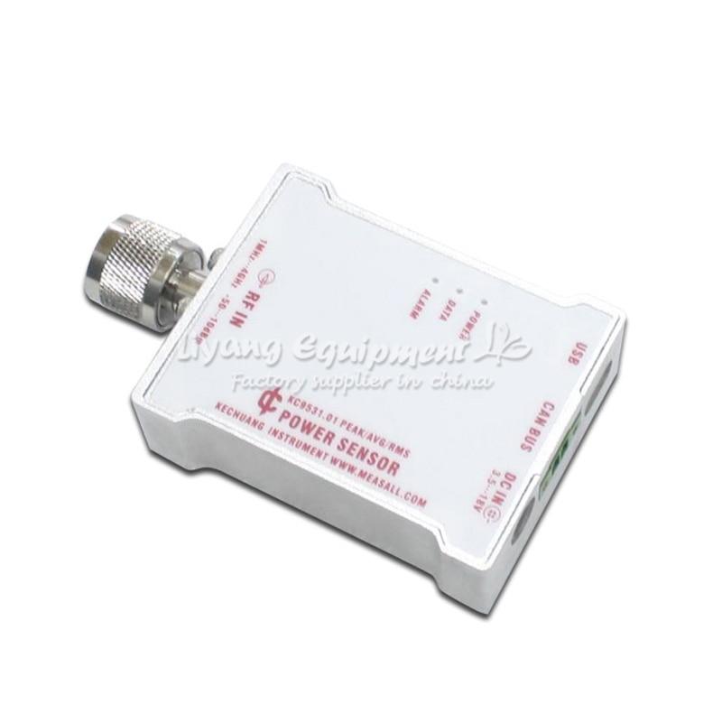 KC9531 RF power sensor power meter probe microwave intensity meter terminal type CAN bus 485 interface все цены