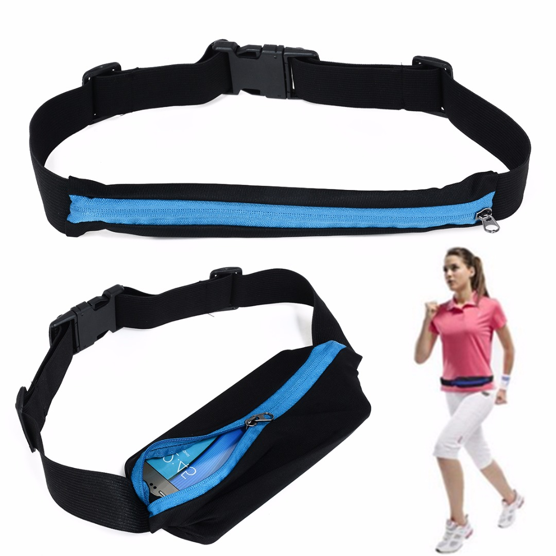 New Outdoor Running Waist Bag Waterproof Mobile Phone Holder Jogging Belt Belly Bag Women Gym Fitness Bag Lady Sport Accessories 14