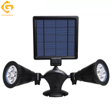 GO OCEAN Solar Light LED Lamp 1pcs 5V 3W IP44 Sensor Spot Modern Garden Decoration Outdoor Lighting Wall Mount Hall Lights