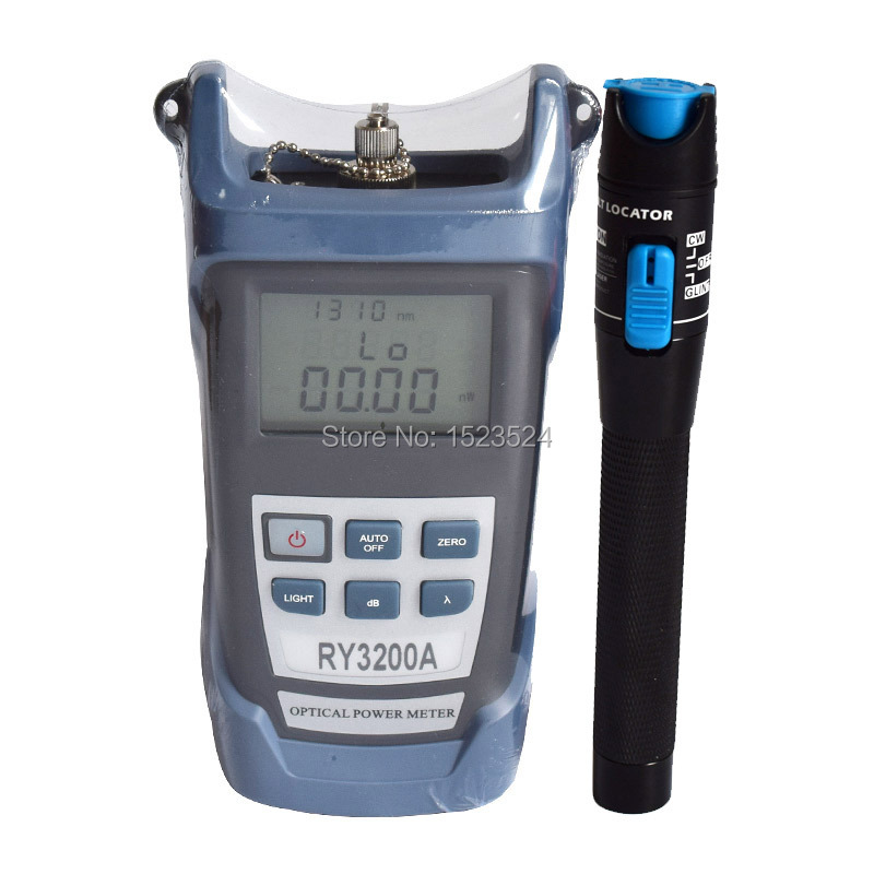 RY3200A -70~+10dBm Handheld Optical Power Meter And Visual Fault Locator 1mw