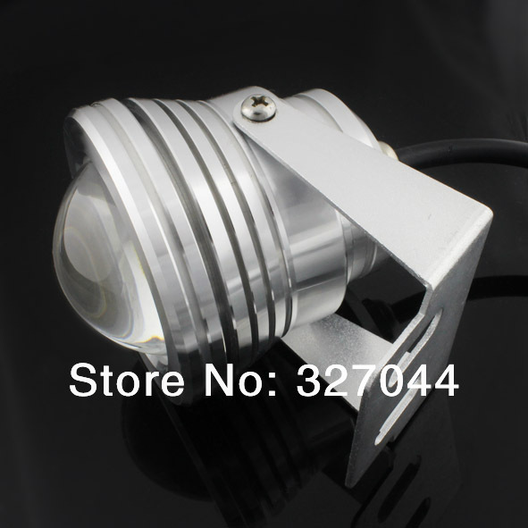 Free Shipping 12V-24V RGB color changeable 10W underwater led lights aquarium Lamp IP68 Fountain Lights swimming pool 10pcs/lot