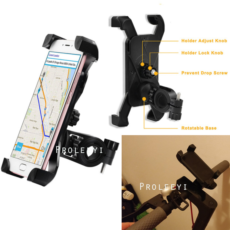 Xiaomi Mijia M365 Electric Scooter/EF1 Foldable Mijia Qicycle E-Bike Scooter Mobile Phone Stand Holder Part Adjustable Anti-Slip Браслет