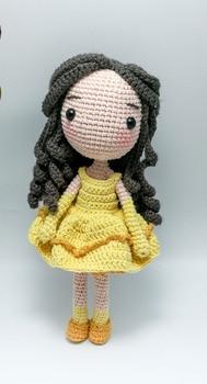crochet toys  amigurumi   girls doll number  WS0074
