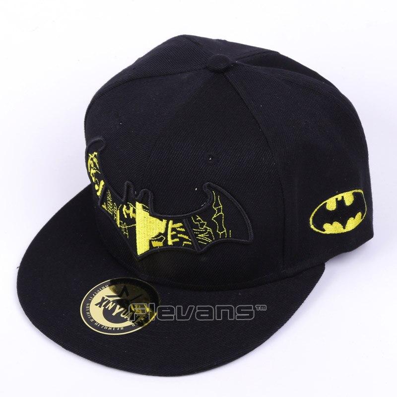 Gorras de béisbol de lona para adultos Batman Unisex bordado ajustable  Snapback sombrero Hip Hop moda d1e55989cfe