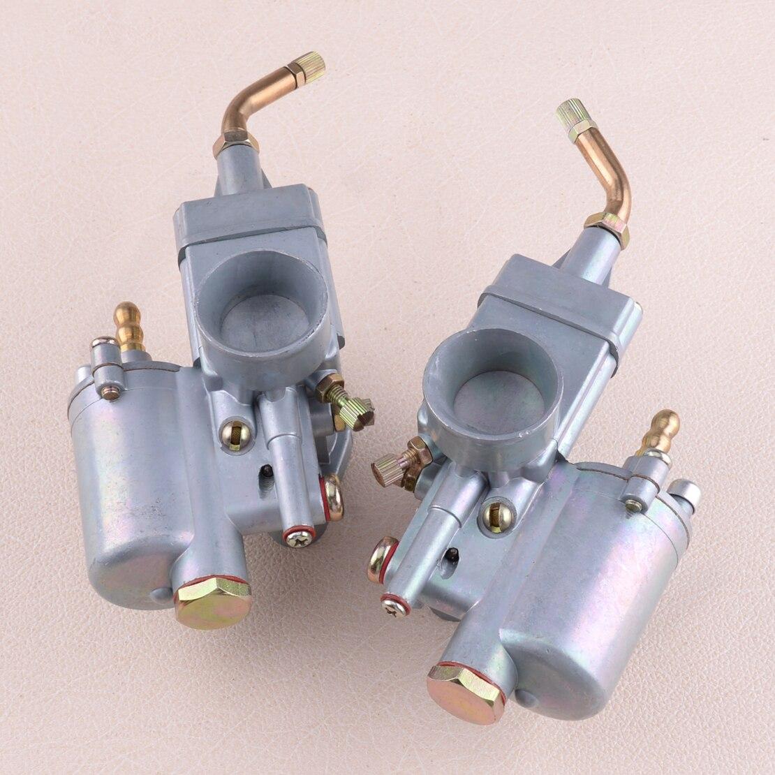 CITALL 1 paire gauche & droite 28mm paire de carburateur carburateur Carby adapté pour K302 BMW M72 MT URAL K750 MW Dnepr