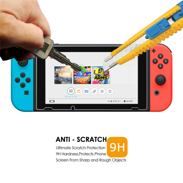 2PCS Tempered Glass For Nintendo Switch