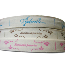 free shipping customized clothing printed cotton labels/gift packing tape printing/garment labels/washable main labels