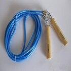 ✔  Розничная фитнес-экипировка CrossFit 2 цвета 5м с деревянной ручкой пластиковая крышка группа Skip T ★