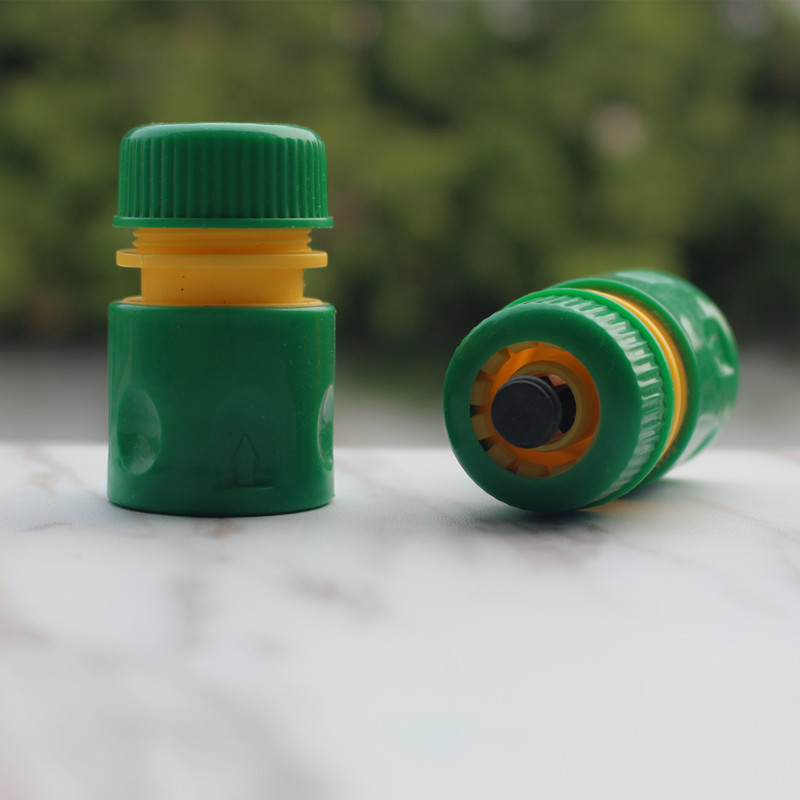 10 pcs/pack 1/2 Tuyau Fin Connecteur Avec Waterstop Pour la Connexion 1/2 pouces Jardin Tuyau Tuyaux à Accessoires tuyaux Et Arrosage