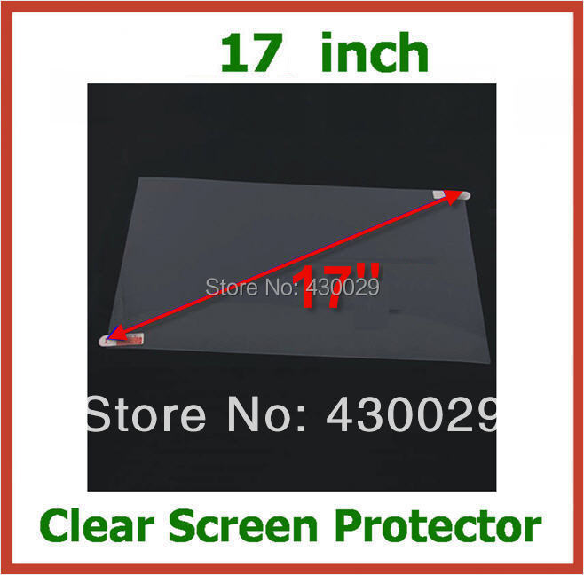 5pcs Universal Clear Screen Protector LCD de 17 inch Dimensiune film de protecție 366x228.5mm pentru Laptop Notebook PC