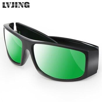Профессиональный светодио дный растут очки для внутренних помещений гидропоники растения УФ глаза защитные поляризационные очки для раст...