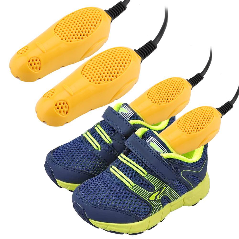 220 В ЕС штепсельная вилка сушилка для обуви защита от запаха дезодорант осушающее устройство сушилка для обуви Электрический нагреватель для детской обуви сушилка для обуви