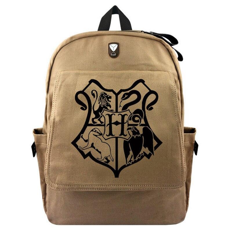 Harri Hermione Bag Model Gryffindor Badge Travel Backpack SchoolBag Magic Toy Gift