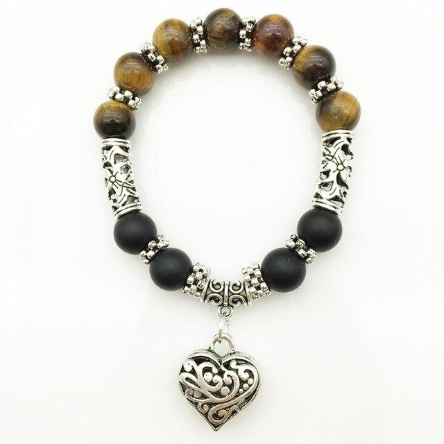 7 Chakra Bracelets Bangle Healing Stone Pray Mala9