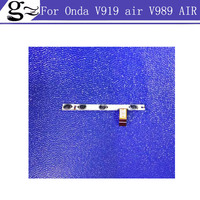 Original Switch On Off Power Volume Button Flex Cable For Onda V919 Air V989 AIR Quad