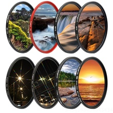 KnightX FLD UV ND Star Camera Lens Filter For canon sony nikon 60d 400d light color 1200d d5300 photography 18-135 24-105 dslr zomei pro ultra slim mcuv 16 layer multi coated optical glass uv filter for canon nikon hoya sony lens dslr camera accessories