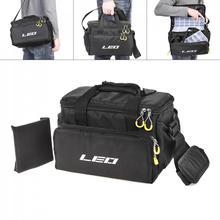 Multifunctional Fishing Bag Waterproof Oxford Cloth Waist Shoulder Messenger Tackle Reel Lures Camera Storage