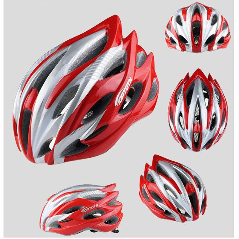 2018 новые поступление шлем MTB Дорога Велоспорт Шлем Для женщин Для мужчин интегрального под давлением Сверхлегкий в формы велосипедный шлем