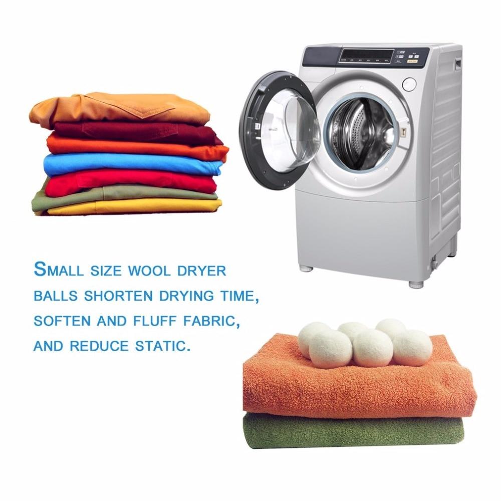 Weichspüler Alternative 6 teile/satz natürliche wiederverwendbare wäsche sauber ball
