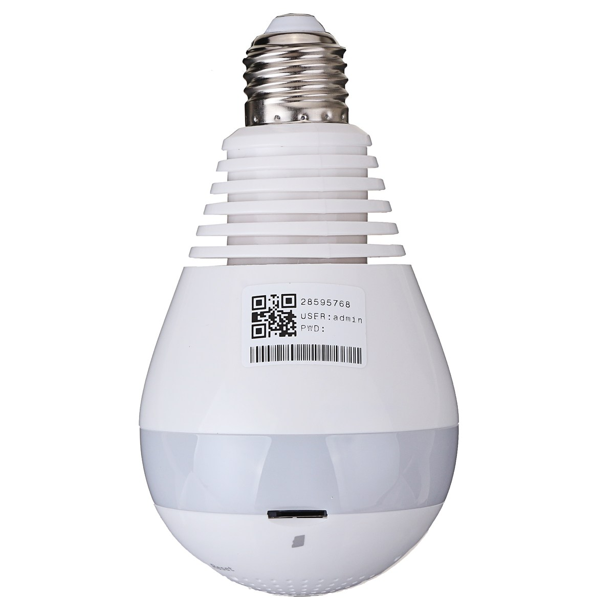 Safurance 1080P HD Wireless 360 degree  Wifi Panoramic Network Security CCTV Light Bulb IP Camera Home Security