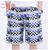 Cortocircuitos de la playa de la personalidad de impresión 2017 verano sección delgada transpirable confort casual hombres pantalones cortos de lino de gran tamaño M-4XL