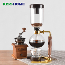 Coffee Syphon Pot Heat Resistant Glass Siphon Coffee Maker Siphon Vacuum Pots 3-5 cups Syphon Coffee Machine Cafe Accessories
