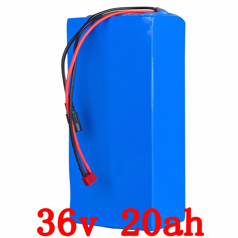 US EU Free Tax 36V Lithium battery 36V 20AH electric bike battery 36V 1000W Scooter Battery