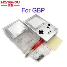 Etui na cały telefon obudowa zamiennik dla Gameboy Pocket konsola do gier dla GBP Shell Case z zestaw przycisków