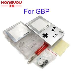Image 1 - حافظة كاملة الإسكان شل استبدال ل Gameboy جيب لعبة وحدة التحكم ل GBP شل مع أزرار عدة