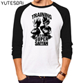 Ball Z Men women Dragon Ball Z T Shirt Vegeta Goku cotton long sleeves Tops Fashion Clothing Tees Plus for women men T-shirt