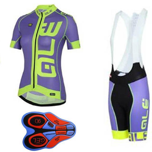 2017 Cycling Jersey set Women Short Sleeve Breathable ropa Ciclismo  Mountain Bike shirts bicycle bib shorts 9D gel pad E1102 363ccd261