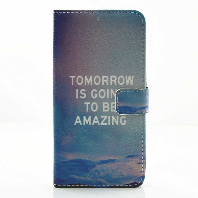 for iPhone 7 4.7 inch Mobile Phone Bag Magnetic PU Leather Stand Cover Phone cases for iPhone 7 -Tomorrow is Going to be Amazing