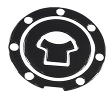1pcs Carbon Fiber Tank Pad Tankpad Protector Sticker For Motorcycle Universal Free Shipping(China)