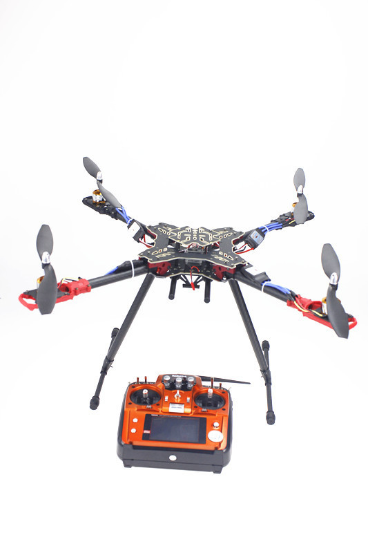 F11066-A 4 Axis Foldable Rack RC Quadcopter RTF with AT10 Transmitter QQ Flight Control Motor ESC Propeller NO Battery Charger wltoys v383 500 electric 3d 6ch rc quadcopter rtf 2 4ghz with brushless motor esc