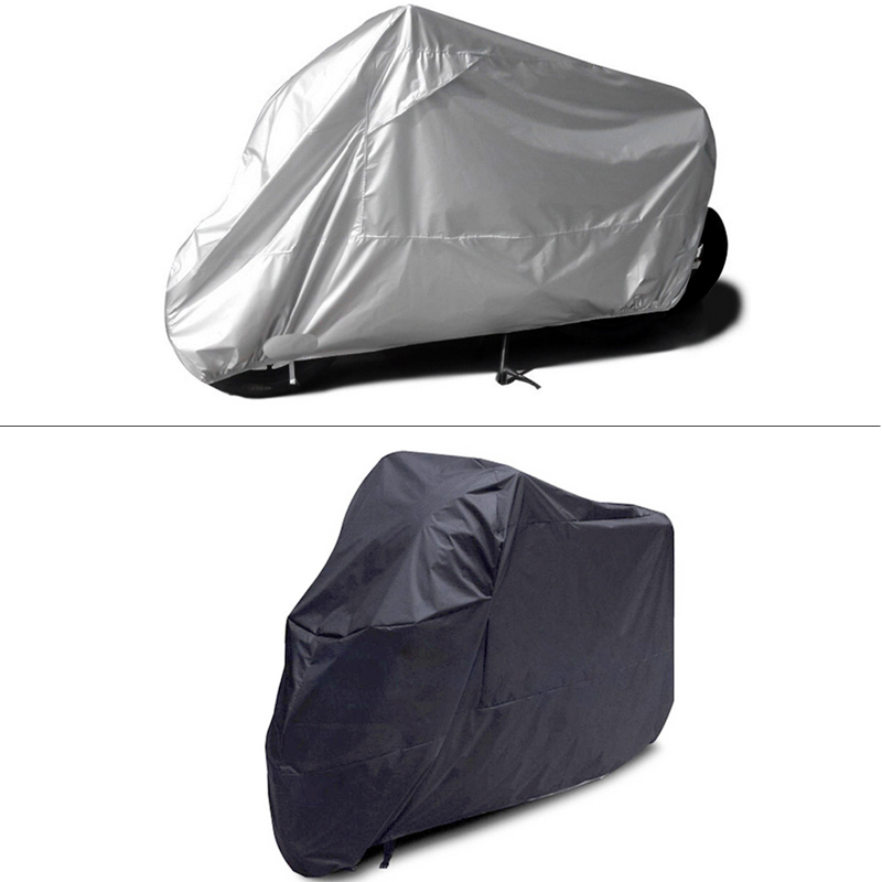 Fast Shipping Waterproof Outdoor Motorbike UV Protector Rain Dust Bike Motorcycle Cover L/XL/2XL/3XL