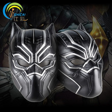 Captain America Black Panther Movie Theme Mask for Party Halloween Christmas Cosplay Resin Mask Adults Full Face Free Shipping