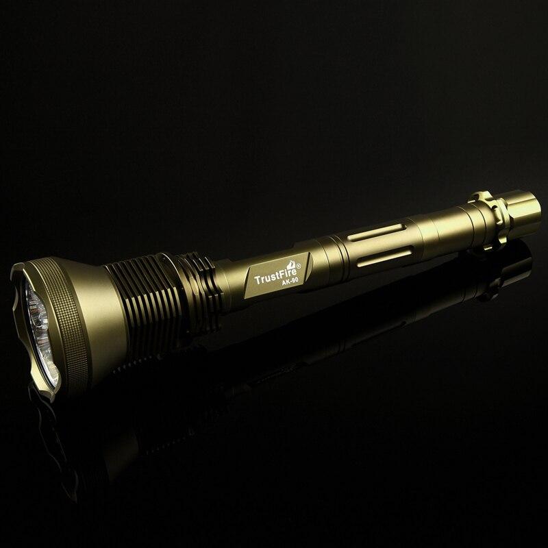 Ak 90 12 * xml lanternas LED TrustFire 13000 Lumen 5 Mode ( H / M / L / Strobe / Sos ) caça tático lanterna - 2