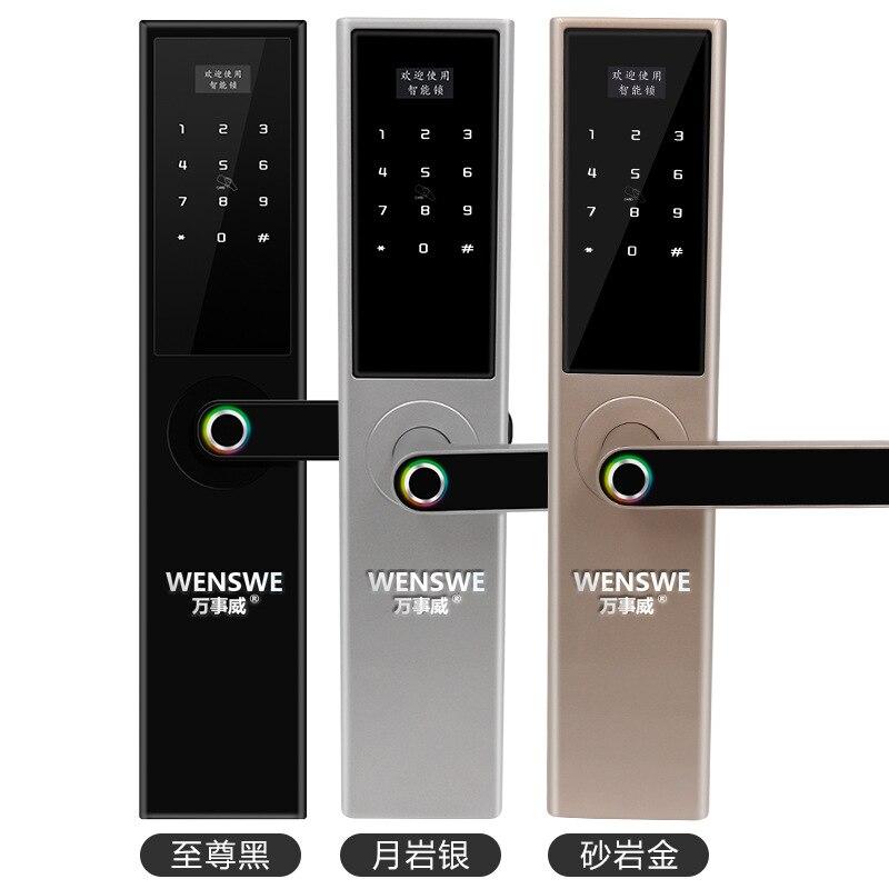 цена direct sale, semi-automatic fingerprint lock, home security door, intelligent electronic code lock, anti cat eye lock.