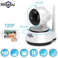 Hiseeu FH2A Home Security IP Camera Wireless Smart WiFi Camera WI FI Audio Record Surveillance Baby