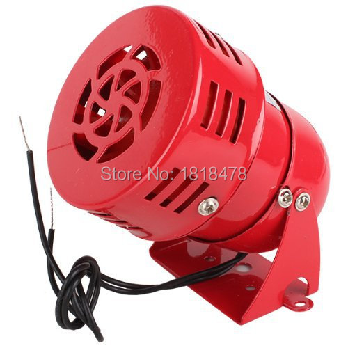 цена на Industrial AC 110V AC220V DC12V DC24V 120dB MS-190 Alarm Sound Motor High Power Buzzer Siren