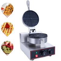 220V/110V EU US Plug Commercial Waffle Maker Waffle Oven Electric Pancake Breakfast Scone Snack