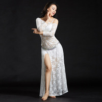 2017 New One Piece Dress Belly Dance Clothing Women Dance Sexy Lace Outfits Dresses Modal Bellydance
