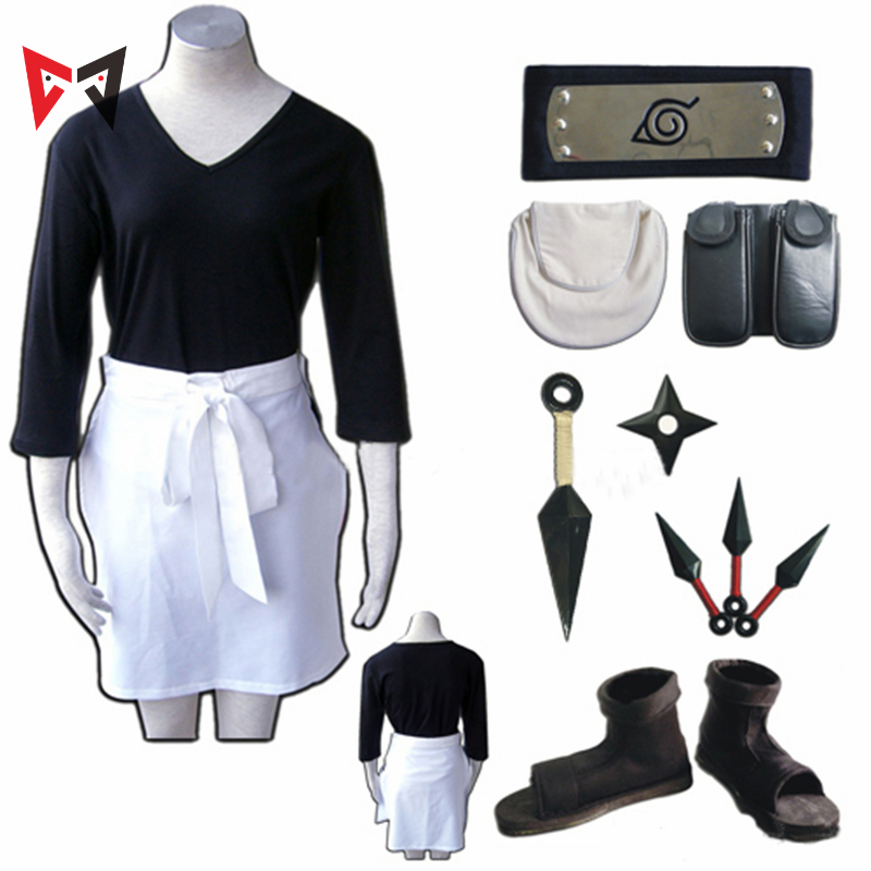 Athemis Naruto Nohara Rin Cosplay Costume Cosplay Prop Custom Made Size