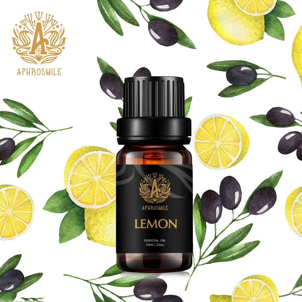 Pure Plant Essential Oil For Aromatic Aromatherapy Diffusers Aroma Oil lemon grass lavender Rosemary Oil Massage Relax Air Care